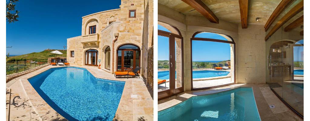 Index for Pool design malta